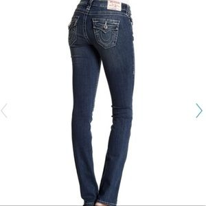 True Religion Flap Pocket Straight Jeans Size 29